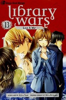 """Library Wars -- Love and War"" Volume 13 by Yumi Kiiro by Yumi Kiiro"